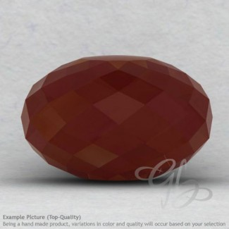 Red Onyx Rondelle Shape Calibrated Beads
