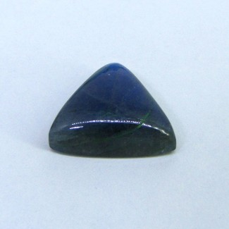 46 Cts. Labradorite 25mm Trillion Shape Single Cab Piece (1 Pc.)