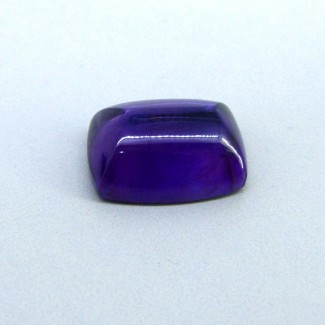 21.30 Carat African Amethyst 20x15mm Cushion Shape Single Cab Piece (1 Pcs.)