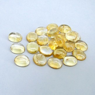 102.35 Carat Citrine 12x10mm Oval Shape Cabochon Parcel (23 Pcs.)