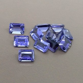 10.30 Cts. Iolite 7x5mm Regular Cut Octagon Shape Gemstone Parcel (12 Pcs.)