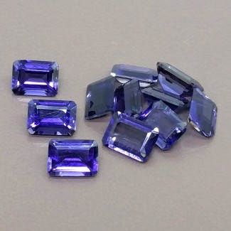 9 Cts. Iolite 7x5mm Regular Cut Octagon Shape Gemstone Parcel (11 Pcs.)