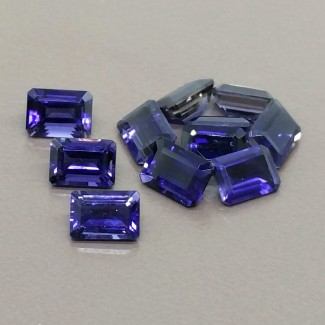 9.80 Cts. Iolite 7x5mm Regular Cut Octagon Shape Gemstone Parcel (11 Pcs.)