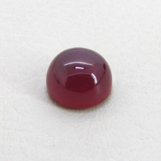 16.30 Cts. Ruby 13mm Round Shape Single Cab Piece
