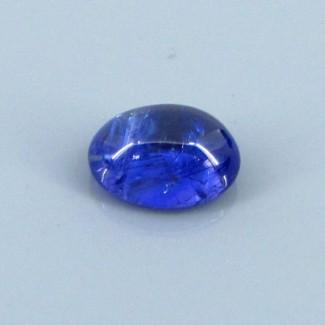 3.60 Cts. Tanzanite 10.5x7.5mm Oval Shape Single Cab Piece