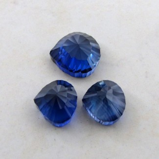 44.80 Cts. Lab Blue Sapphire 16-13mm Fancy Shape Gem Set
