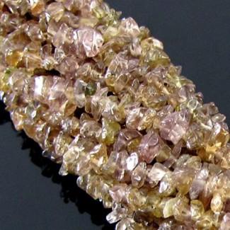 Color-Change Garnet 5-6mm Tumbeled Chips Shape Beads Strand