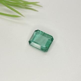 5.52 Cts. Emerald 12x10.5mm Regular Cut Octagon Shape Single Gem Piece (1 Pc.)