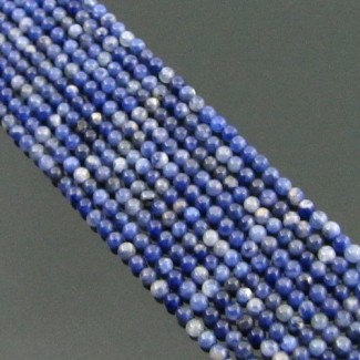 Sodalite 2-2.5mm Smooth Round Shape Beads Strand