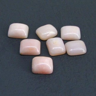 78.50 Cts. Pink Opal 11x9mm Cushion Shape Cabochon Parcel (20 Pcs.)