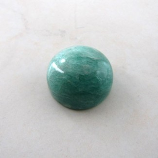 71.25 Cts. Amazonite 25mm Round Shape Cabochon Parcel (1Pcs.)