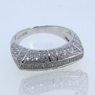 Diamond White CZ 925 Sterling Silver Ring